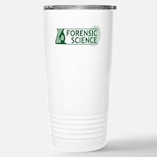 Forensic Science Stainless Steel Travel Mug