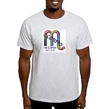 Scorpio Ash Grey T-Shirt