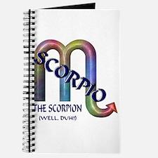 Scorpio Blank Journal