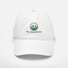 Obama, The Natural Choice Baseball Baseball Cap