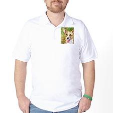Unique Corgi painting T-Shirt