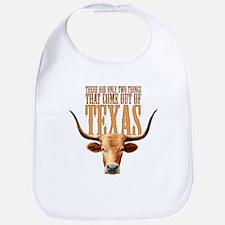 Texas Steers Bib