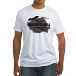 Transylvania It's Fangtastic Fitted T-Shirt