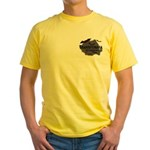 Transylvania It's Fangtastic Yellow T-Shirt