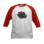 Transylvania It's Fangtastic Kids Baseball Jersey