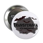 "Transylvania It's Fangtastic 2.25"" Button"