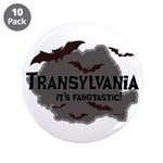 "Transylvania It's Fangtastic 3.5"" Button (10 pack)"