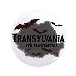 "Transylvania It's Fangtastic 3.5"" Button (100 pack"