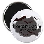 "Transylvania It's Fangtastic 2.25"" Magnet (100 pac"
