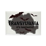 Transylvania It's Fangtastic Rectangle Magnet (10
