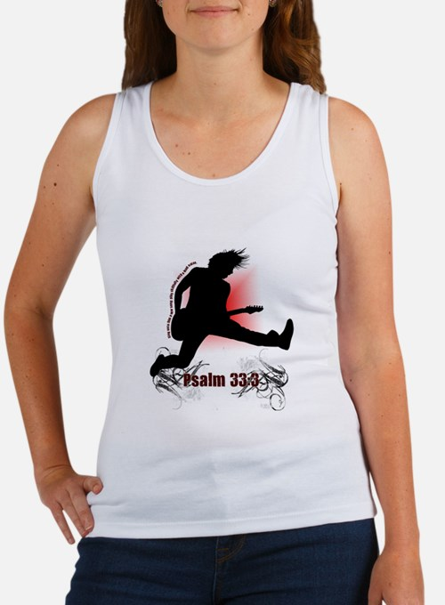 Psalm 33:3 Women's Tank Top
