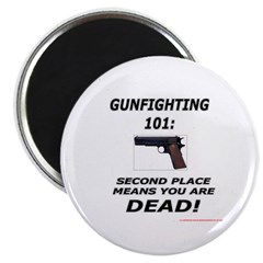 "GUNFIGHTING 101 2.25"" Magnet (100 pack)"