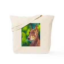 Unique Doberman pinscher Tote Bag