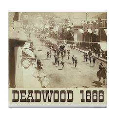 Deadwood Celebration Tile Coaster