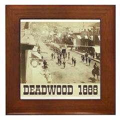 Deadwood Celebration Framed Tile