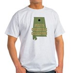 Alabama State Cornhole Champi Light T-Shirt