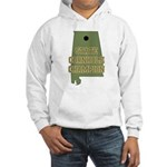 Alabama State Cornhole Champi Hooded Sweatshirt