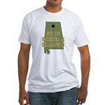 Alabama State Cornhole Champi Fitted T-Shirt