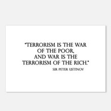 War and Terror Postcards (Package of 8)