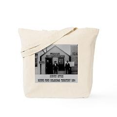 Round Pond Oklahoma Tote Bag
