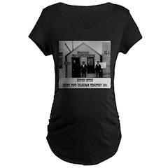 Round Pond Oklahoma Maternity Dark T-Shirt