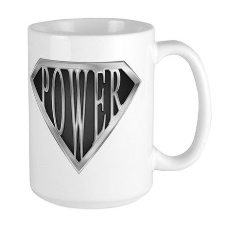 SuperPower(Metal) Large Mug