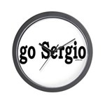 go Sergio Wall Clock