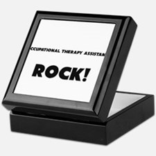 Occupational Therapy Assistants ROCK Keepsake Box