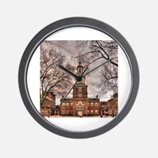 Cute Independence hall Wall Clock
