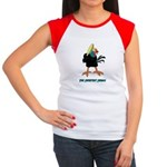 Athletic Chicken Women's Cap Sleeve T-Shirt