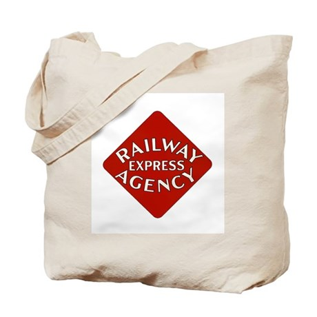 Railway Express Color Logo Tote Bag