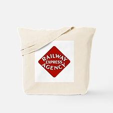 Railway Express Color Logo Tote Bag
