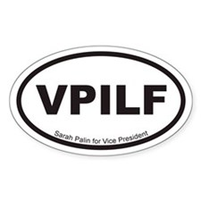 Euro Style VPILF Oval Decal