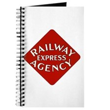 Railway Express Color Logo Journal