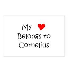 Unique Cornelius Postcards (Package of 8)