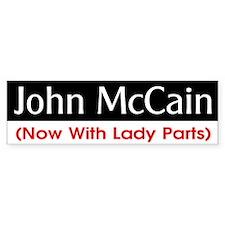 McC/P Lady Parts Bumper Bumper Sticker