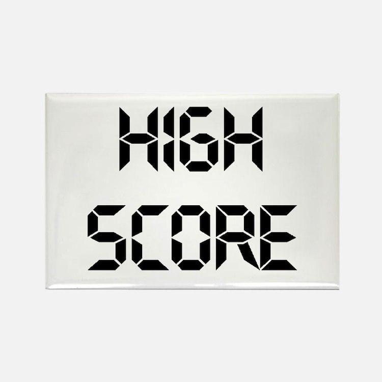 High Score Rectangle Magnet