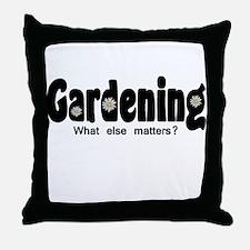 Gardener Throw Pillow