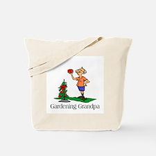 Gardening Grandpa Tote Bag