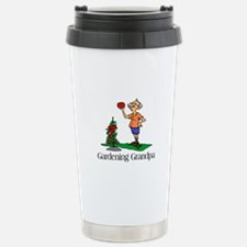 Gardening Grandpa Stainless Steel Travel Mug