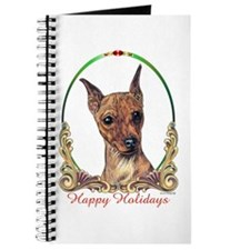Miniature Pinscher Holiday Journal