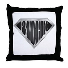 SuperPsychic(Metal) Throw Pillow