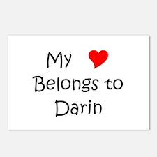 Cool Darin Postcards (Package of 8)