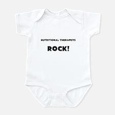 Nutritional Therapists ROCK Infant Bodysuit