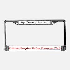 Prius Club License Plate Frame