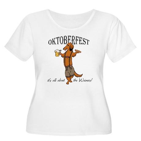 LH Oktoberfest Dachshund Women's Plus Size Scoop N
