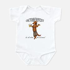 LH Oktoberfest Dachshund Infant Bodysuit