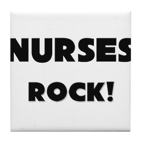 Nursemaids ROCK Tile Coaster