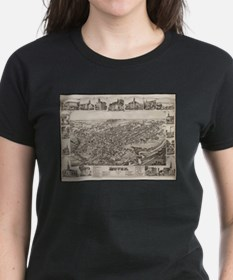 Vintage Pictorial Map of Dover Delaware (1 T-Shirt