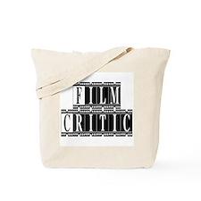 Film Critic Tote Bag